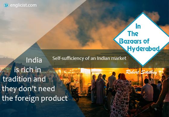 In The Bazaars of Hyderabad –Sarojini Naidu: Summary | Englicist